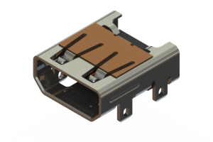694H319-662-211 - HDMI Type-D connector