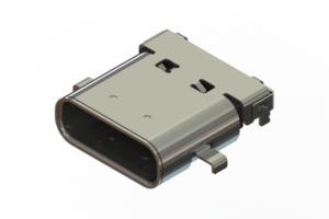 698C124-215-211 - 24 pin USB Type-C connector