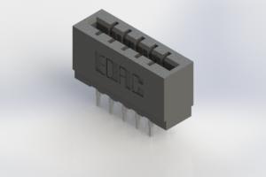 717-010-522-206 - Press-Fit Card Edge Connectors
