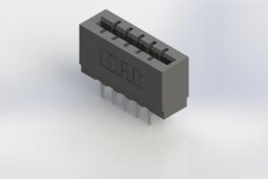 717-010-540-206 - Press-Fit Card Edge Connectors