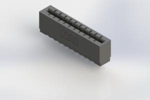 717-010-541-106 - Press-Fit Card Edge Connectors