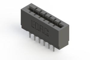 717-012-520-201 - Press-fit Card Edge Connector