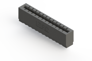 717-012-522-101 - Press-fit Card Edge Connector