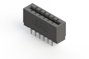 717-012-522-201 - Press-fit Card Edge Connector