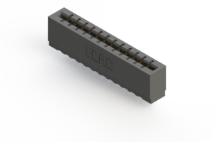 717-012-545-101 - Press-fit Card Edge Connector