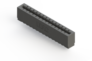 717-014-522-101 - Press-fit Card Edge Connector
