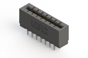 717-014-560-201 - Press-fit Card Edge Connector