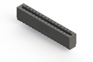 717-015-522-101 - Press-fit Card Edge Connector