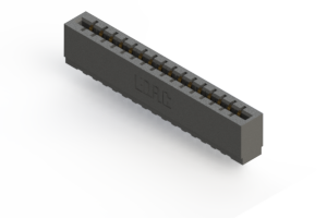 717-016-545-101 - Press-fit Card Edge Connector