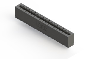 717-017-522-101 - Press-fit Card Edge Connector