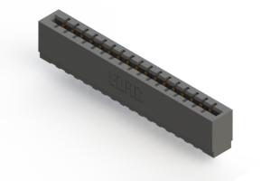717-017-525-101 - Press-fit Card Edge Connector