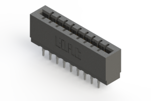 717-018-520-201 - Press-fit Card Edge Connector