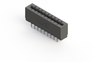 717-018-541-201 - Press-fit Card Edge Connector