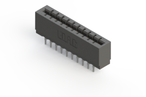 717-020-540-201 - Press-fit Card Edge Connector