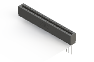 717-020-541-101 - Press-fit Card Edge Connector