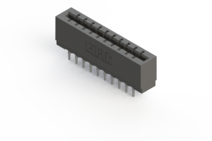717-020-541-201 - Press-fit Card Edge Connector