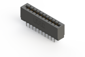 717-020-545-201 - Press-fit Card Edge Connector