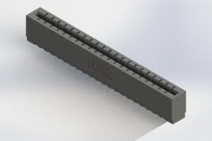 717-021-520-106 - Press-Fit Card Edge Connectors