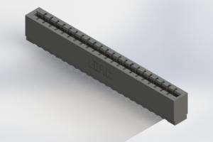 717-022-520-106 - Press-Fit Card Edge Connectors