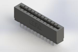 717-022-520-206 - Press-Fit Card Edge Connectors