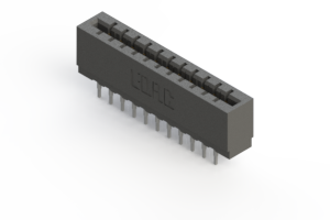 717-022-540-201 - Press-fit Card Edge Connector