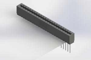 717-022-541-106 - Press-Fit Card Edge Connectors