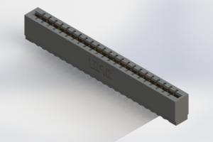 717-023-525-106 - Press-Fit Card Edge Connectors