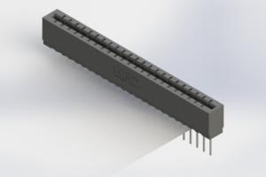 717-023-540-106 - Press-Fit Card Edge Connectors