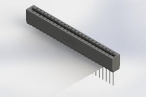717-023-541-106 - Press-Fit Card Edge Connectors