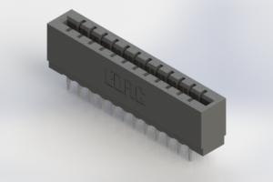717-024-520-206 - Press-Fit Card Edge Connectors