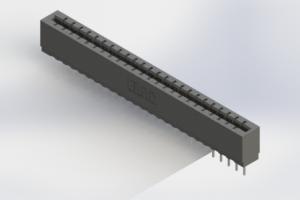 717-024-522-106 - Press-Fit Card Edge Connectors