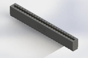 717-024-525-106 - Press-Fit Card Edge Connectors