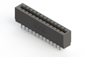 717-024-525-201 - Press-fit Card Edge Connector