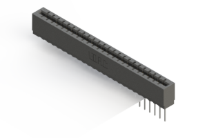 717-024-540-101 - Press-fit Card Edge Connector