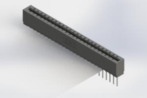 717-024-540-106 - Press-Fit Card Edge Connectors