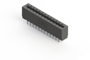 717-024-541-201 - Press-fit Card Edge Connector