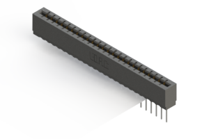 717-024-545-101 - Press-fit Card Edge Connector