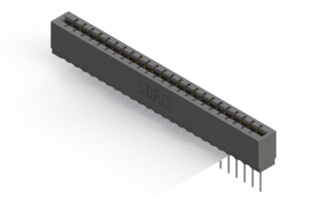 717-024-545-106 - Press-Fit Card Edge Connectors