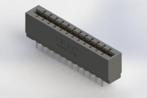 717-024-560-206 - Press-Fit Card Edge Connectors