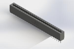 717-025-522-106 - Press-Fit Card Edge Connectors