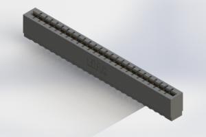 717-025-525-106 - Press-Fit Card Edge Connectors