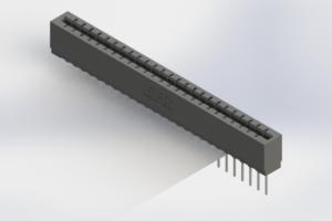 717-025-540-106 - Press-Fit Card Edge Connectors