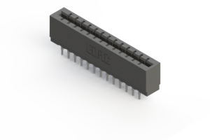 717-026-541-201 - Press-fit Card Edge Connector