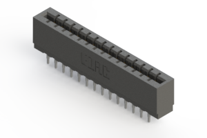 717-028-520-201 - Press-fit Card Edge Connector