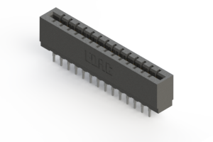 717-028-522-201 - Press-fit Card Edge Connector