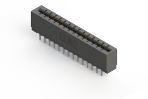 717-028-545-201 - Press-fit Card Edge Connector