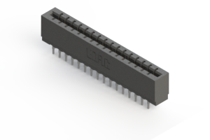 717-032-540-201 - Press-fit Card Edge Connector
