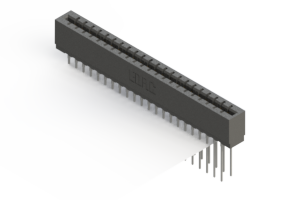 717-044-541-201 - Press-fit Card Edge Connector