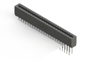 717-046-540-201 - Press-fit Card Edge Connector