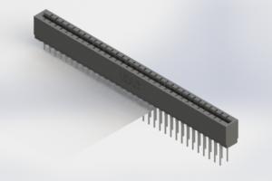 717-066-540-206 - Press-Fit Card Edge Connectors